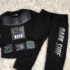 Toddler Boy Star Wars Darth Vader PJs